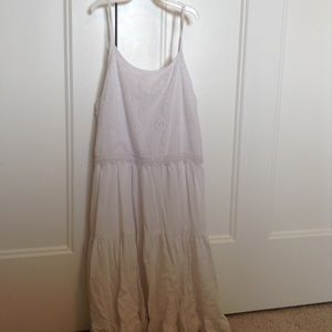 Pinky girls size 14 white dress NWOT